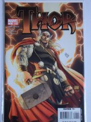 Thor #1 Turner Cover Dynamic Forces Signed Olivier Coipel DF COA Ltd 100 Marvel comic book
